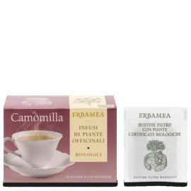 camomilla biologica in bustine monodose