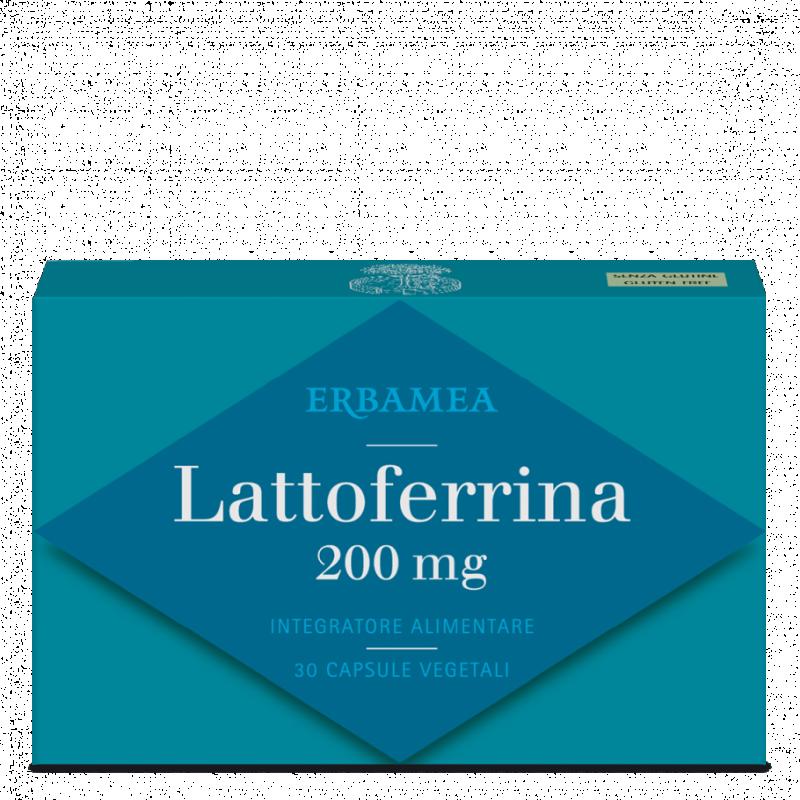 Confezione Lattoferrina Erbamea gluten free